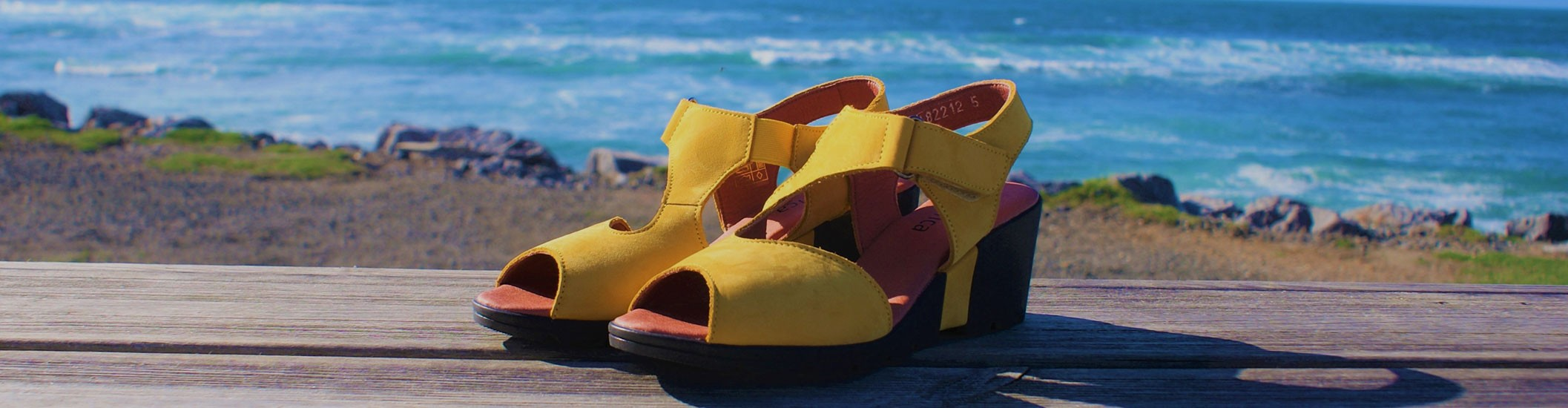 Light sandals, perfect for summer !